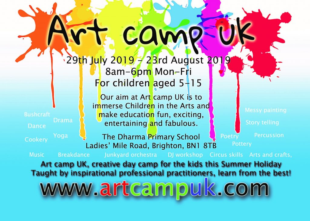 Dharma Primary Art Camp UK