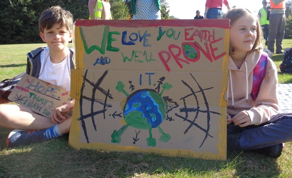 Dharma Primary School Climate Protests